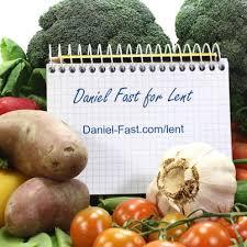 Daniel Fast for Lent